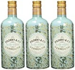 Vermouth Padró & Co Blanco Reserva - 3 botellas de 75 cl, Total: 2250 ml