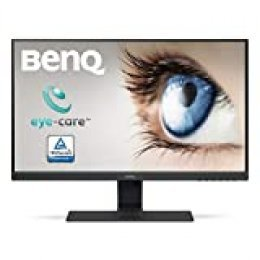 "BenQ GW2283 - Monitor de 21.5"" FullHD (1920x1080, 5ms, 60Hz, 2x HDMI, IPS, VGA, Altavoces, VESA, E2E, Eye-care, Sensor Brillo Inteligente, Flicker-free, Low Blue Light, antireflejos) - Color Negro"