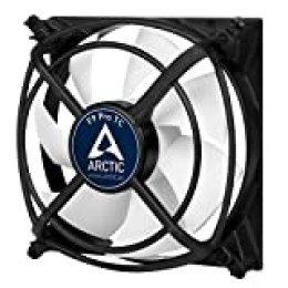 ARCTIC F9 Pro TC – 99 mm Ventilador de Caja para CPU con Control de Temperatura, Motor Muy Silencioso con Exclusivo Sistema Antivibración, Computadora, 500-2000 RPM – Gris/Blanco