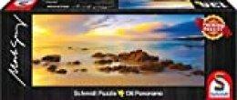 Schmidt Spiele 59364 Mark Gray, Friendly Beaches - Puzzle clásico de Tasmania, Australia, 136 Piezas