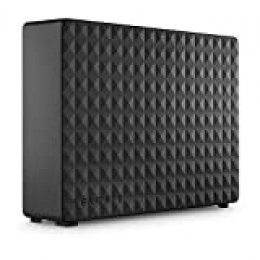 Seagate Expansion Desktop, 4TB, Disco duro externo, HDD, USB 3.0 para PC, ordenador portátil y Mac (STEB4000200)