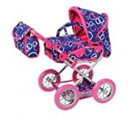 Cochecito para muñecas, calesín, de Knorr Toys, Knorr63199, «Combi Ruby», con diseño de Anillos