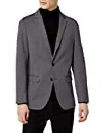 Marca Amazon - MERAKI Blazer Hombre, Gris (Charcoal), 52, Label: 42