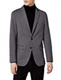 Marca Amazon - MERAKI Blazer Hombre, Gris (Charcoal), 52, Label: 42