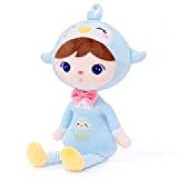 Gloveleya Muñeca de Peluche muñeca de Trapo Peluche Regalo de niña Suave y Seguro para Jugar - Serie Kepple - Pingüino