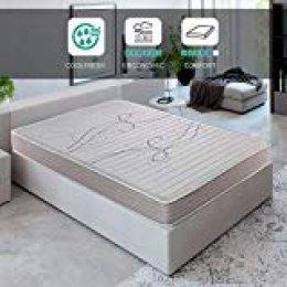 ROYAL SLEEP Colchón viscoelástico 140x200 de máxima Calidad, Confort y firmeza Alta, Altura 14cm. Colchones Xfresh
