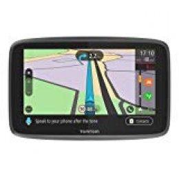 """TomTom GO Professional 6250 - Navegación Profesional para Vehículos Grandes, Tomtom Traffic para toda la vida a traves de SIM, 6"""", Negro"""