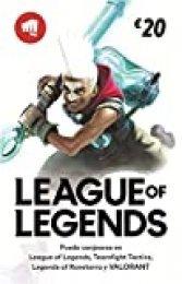 League of Legends €20 Tarjeta de regalo | Riot Points | VALORANT Points