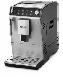 De'Longhi ETAM29.510.SB Cafetera súper automática, con panel táctil, 1450 W, 1.3 L, 15 bareses, acero inoxidable, plata