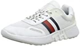 Tommy Hilfiger Tommy Sporty Runner, Zapatillas para Mujer, Blanco (White Ybs), 40 EU