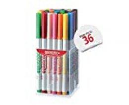 Fibracolor Aquarello - Bote de 36 rotuladores acuarelables con punta de pincel