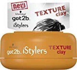Got2b - Arcilla Texturizante iStylers - 75ml (pack de 6) Total: 450ml