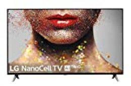 "LG TV NanoCell AI, 55SM8500PLA, Smart TV 55"", 4K Cinema HDR con Dolby Vision y Dolby Atmos, Alexa integrada"