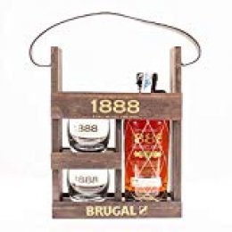 Brugal 1888 - Ron, 2 Vasos Incluidos, 700 ml