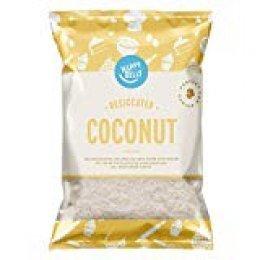 Marca Amazon - Happy Belly Coco desecado 200gr x 5