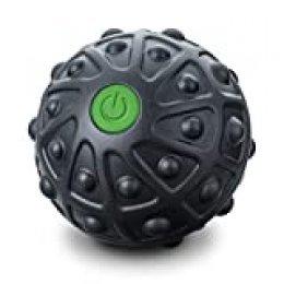 Beurer MG10 Bola de masaje con vibración, compacta, 2 niveles intensidad para activar zonas tensas de los músculos, superfície tacto suave, óptimo para viajes, 7.5 cm, color negro