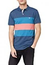 dockers 360 Versatile Polo, Multicolor (Ridgeway Ensign Blue 0012), Medium para Hombre