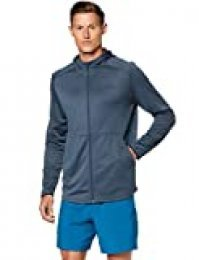 Under Armour Mk1 Warmup FZ Chaqueta, Hombre, Gris, XL