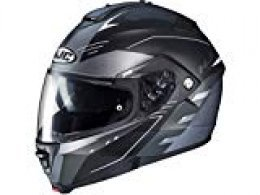 HJC IS MAX II CORMI MC5SF - Casco de moto (talla XS), color negro y gris