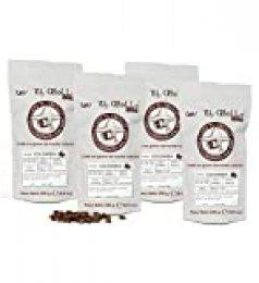 El Criollo - Café de Colombia en Grano | 100% Arábica y Tueste Natural | Pack 4x250 gr (1kg)