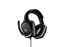 Logitech G332 SE, Auriculares Gaming con Cable, Audio Estéreo, Transductores 50 Mm, 3,5 mm Jack, Wired, Negro (Reacondicionado)