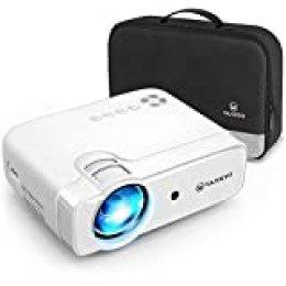 VANKYO Proyector, Proyector Cine en Casa Portátil 5000 Lúmenes 720P Nativo, Soporte Full HD 1080p, Compatible con TV Stick iOS/Android/Disco U. Leisure 430XX