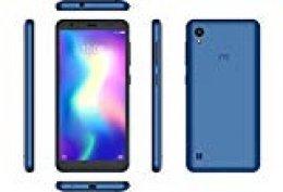 """ZTE Blade A5 2019 - Smartphone de 5,5"""" HD+ 18:9 (Procesador Octa-Core A55, 2 GB de Ram, 16 GB de Rom, Cámara de 13 mp, Android 9), Color Azul [versión española]"""