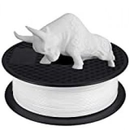 Filamento PLA 1.75 mm, GIANTARM Impresora 3D PLA Filamento 1kg Spool, Blanco…