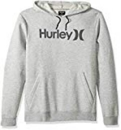 "Hurley - Sudadera con capucha para hombre, Gris, talla M ""M Surf Check One & Only"""