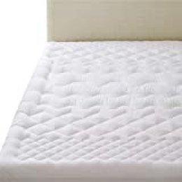 Bedsure Protector Colchón Acolchado 90x190/200 cm - Funda Colchón Anti-Ácaros de Espuma de 7-Zonas para Cama 90 de Suave Microfibra Transpirable Anti-bacteriano Viscoelastica Hipoalergénico
