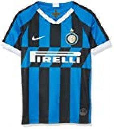 NIKE Inter Y Nk BRT Stad JSY SS Hm Camiseta, Unisex niños, Blue Spark/White, L