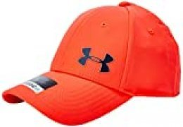 Under Armour Golf Headline 3.0 C Gorra con Logo Frontal, Hombre, Rojo (Red 628), L/XL