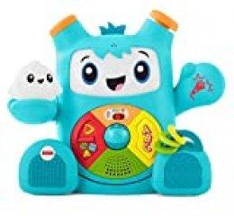 Fisher-Price Rocky Roquero, juguete electrónico bebé +6 meses (Mattel FXD05) , color/modelo surtido