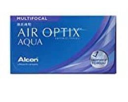 AIR OPTIX Lentes de contacto multifocales mensuales, R 8.6, D 14.2, 0.25 dioptría, adición media - 6 lentillas