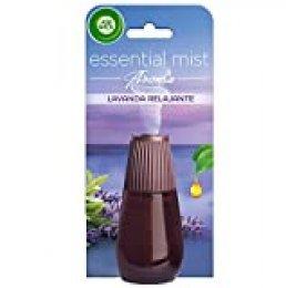 Air Wick Essential Mist Recambio de ambientador difusor, esencia para casa con aroma a Lavanda Relajante