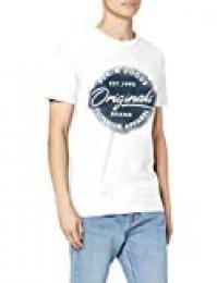 Jack & Jones Jorsprayed tee SS Crew Neck Camiseta para Hombre