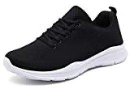 KOUDYEN Zapatillas Deportivas de Mujer Hombre Running Zapatos para Correr Gimnasio Calzado
