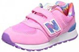 New Balance 574v2, Zapatillas para Niñas, Rosa (Pink Tdp), 40 EU