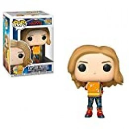 Funko Bobble Captain Marvel: Pop 1 Figura Coleccionable, Multicolor (37685)