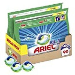 Ariel Allin1 Pods Alpes Detergente en cápsulas para la lavadora, fragancia frescor de los Alpes - 90 lavados