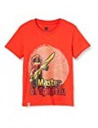 LEGO Cm Ninjago Camiseta, Rojo (Red 344), 152 para Niños