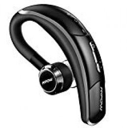 Auricular Manos Libres,Mpow Auricular Bluetooth 4.1 Inalámbrico In-Ear con Manos Libres Teléfono Movil,Auriculares Inalámbricos EDR con Cancelación de Ruido en coche Oficina para iPhone Android