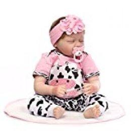 Decdeal Muñeca Bebé Reborn para Niñas