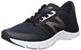 New Balance 715v3, Zapatillas Deportivas para Interior para Mujer, Negro (Black/Gold), 35 EU
