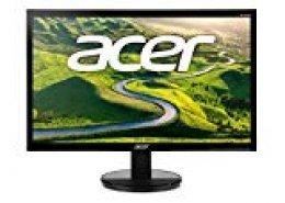 Acer K2 Monitor, 60 cm (23.6''), 1ms 100M:1 A cm, 300nits LED DVI HDMI, EURO/UK EMEA MPRII, Black, EcoDisplay