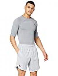 Under Armour Knit Pantalones Cortos, Hombre, Gris, XL