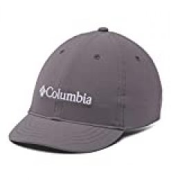 Columbia Youth Gorra Ajustable para jóvenes, Unisex niños, Gris (City Grey), One Size (Adjustable)