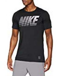 Nike M NP SS Fttd Hbr Camiseta, Hombre