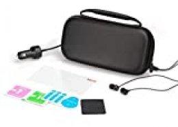 iMW - Kit de viaje básico para Nintendo Switch Lite, negro