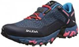Salewa WS Speed Beat GTX, Zapatillas de Running para Asfalto para Mujer, Azul (Patriot Blue/Fluor Coral 8638), 42.5 EU